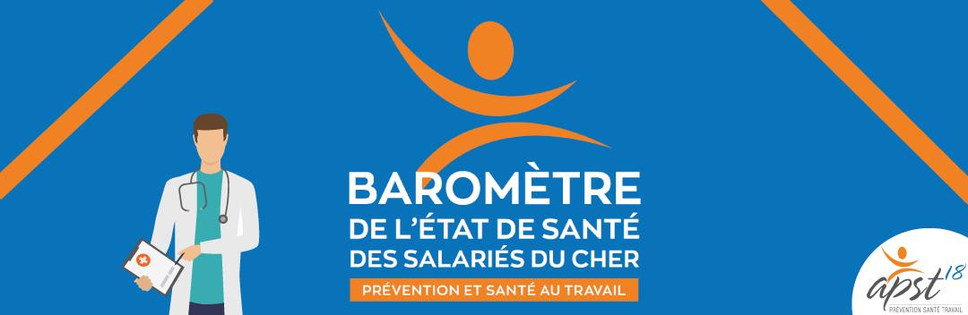 Baromètre de l'état de santé des salariés du Cher